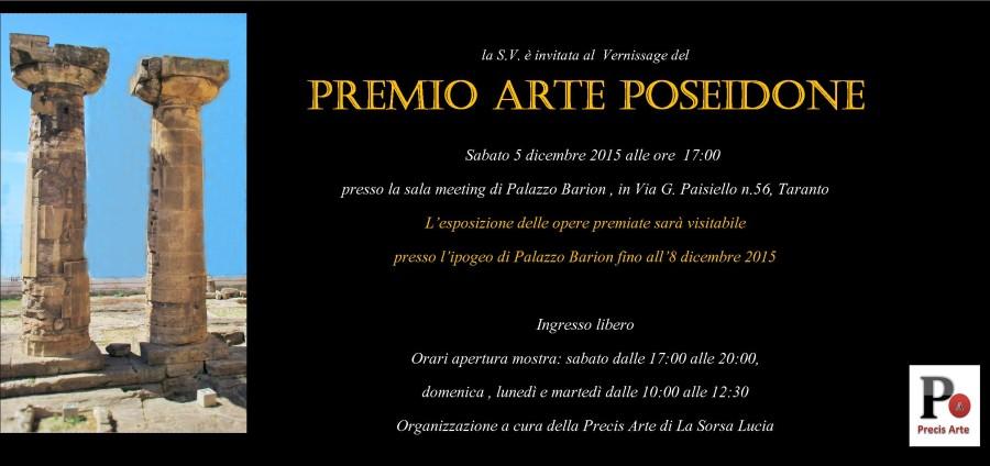 Invito Premio Arte Poseidone 2