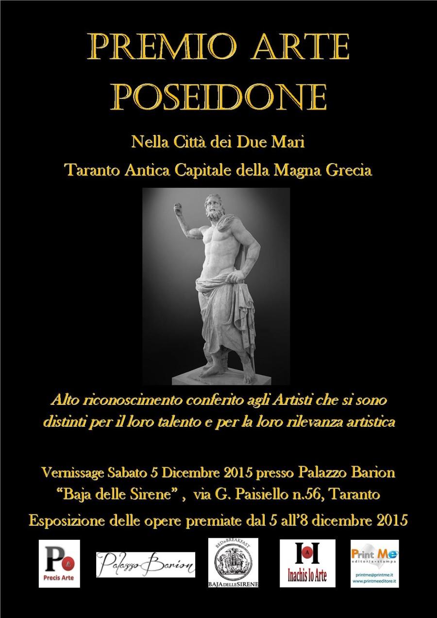 Locandina provvisoria Premio Arte Poseidone